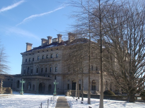 The Breakers in winter