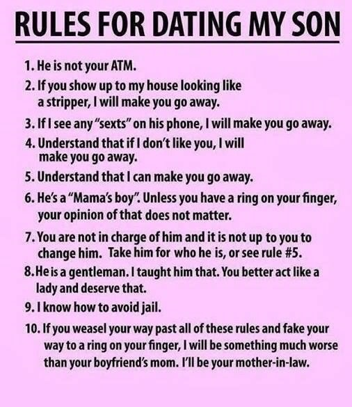 parenting dating rules Here's a teen dating primer to help your child — and you — forge the valley between child and young adult.